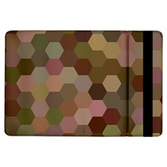 Brown Background Layout Polygon Ipad Air Flip