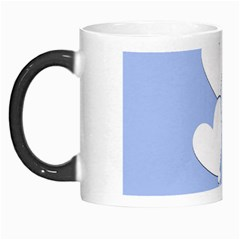 Clouds Sky Air Balloons Heart Blue Morph Mugs by Nexatart
