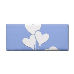 Clouds Sky Air Balloons Heart Blue Cosmetic Storage Cases by Nexatart