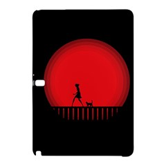 Girl Cat Scary Red Animal Pet Samsung Galaxy Tab Pro 12 2 Hardshell Case