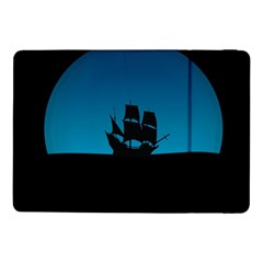 Ship Night Sailing Water Sea Sky Samsung Galaxy Tab Pro 10 1  Flip Case by Nexatart