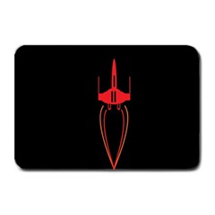 Ship Space Spaceship Plate Mats by Nexatart