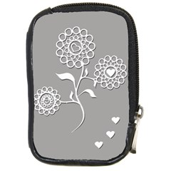 Flower Heart Plant Symbol Love Compact Camera Cases