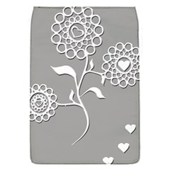 Flower Heart Plant Symbol Love Flap Covers (S)