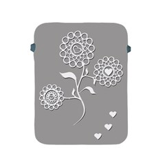 Flower Heart Plant Symbol Love Apple iPad 2/3/4 Protective Soft Cases