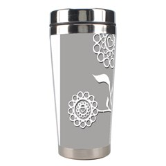 Flower Heart Plant Symbol Love Stainless Steel Travel Tumblers by Nexatart