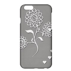 Flower Heart Plant Symbol Love Apple Iphone 6 Plus/6s Plus Hardshell Case