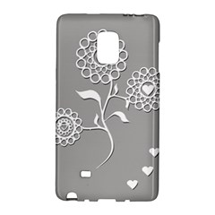 Flower Heart Plant Symbol Love Galaxy Note Edge