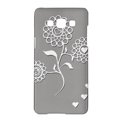 Flower Heart Plant Symbol Love Samsung Galaxy A5 Hardshell Case