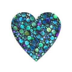 Lovely Shapes 2c Heart Magnet by MoreColorsinLife