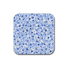 Lovely Shapes 1c Rubber Coaster (square)