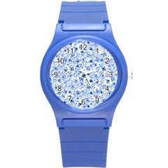 Lovely Shapes 1c Round Plastic Sport Watch (s) by MoreColorsinLife