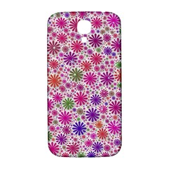 Lovely Shapes 3a Samsung Galaxy S4 I9500/i9505  Hardshell Back Case by MoreColorsinLife