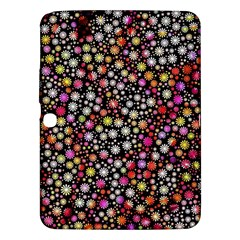Lovely Shapes 4a Samsung Galaxy Tab 3 (10 1 ) P5200 Hardshell Case  by MoreColorsinLife