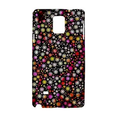 Lovely Shapes 4a Samsung Galaxy Note 4 Hardshell Case by MoreColorsinLife