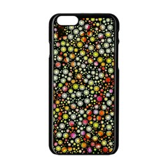 Lovely Shapes 4b Apple Iphone 6/6s Black Enamel Case by MoreColorsinLife