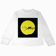 Jaguar Puma Animal Panther Cat Kids Long Sleeve T-shirts