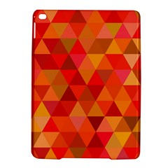Red Hot Triangle Tile Mosaic Ipad Air 2 Hardshell Cases by Nexatart