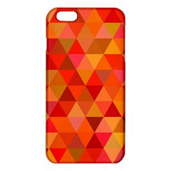 Red Hot Triangle Tile Mosaic Iphone 6 Plus/6s Plus Tpu Case by Nexatart