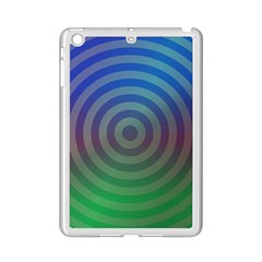 Blue Green Abstract Background Ipad Mini 2 Enamel Coated Cases by Nexatart