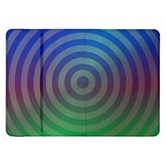 Blue Green Abstract Background Samsung Galaxy Tab 8 9  P7300 Flip Case by Nexatart