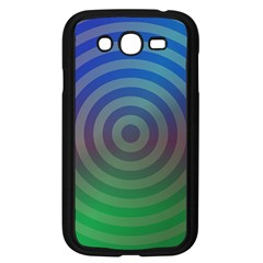 Blue Green Abstract Background Samsung Galaxy Grand Duos I9082 Case (black)