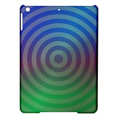 Blue Green Abstract Background Ipad Air Hardshell Cases