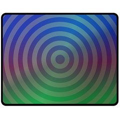 Blue Green Abstract Background Double Sided Fleece Blanket (medium)  by Nexatart
