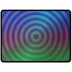 Blue Green Abstract Background Double Sided Fleece Blanket (large)  by Nexatart