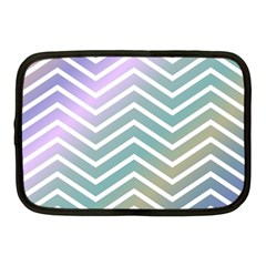 Zigzag Line Pattern Zig Zag Netbook Case (medium)  by Nexatart