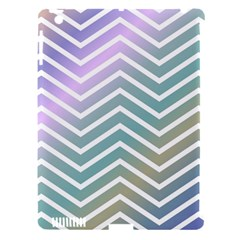 Zigzag Line Pattern Zig Zag Apple Ipad 3/4 Hardshell Case (compatible With Smart Cover) by Nexatart