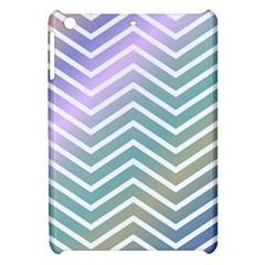 Zigzag Line Pattern Zig Zag Apple Ipad Mini Hardshell Case by Nexatart