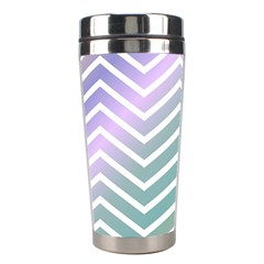 Zigzag Line Pattern Zig Zag Stainless Steel Travel Tumblers by Nexatart