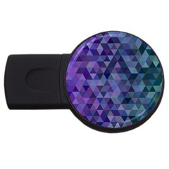 Triangle Tile Mosaic Pattern Usb Flash Drive Round (2 Gb)