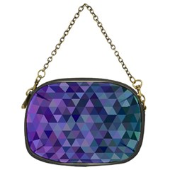 Triangle Tile Mosaic Pattern Chain Purses (one Side)  by Nexatart