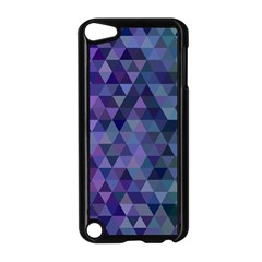 Triangle Tile Mosaic Pattern Apple Ipod Touch 5 Case (black) by Nexatart