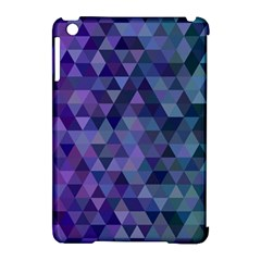 Triangle Tile Mosaic Pattern Apple Ipad Mini Hardshell Case (compatible With Smart Cover) by Nexatart