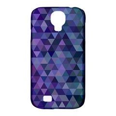 Triangle Tile Mosaic Pattern Samsung Galaxy S4 Classic Hardshell Case (pc+silicone)