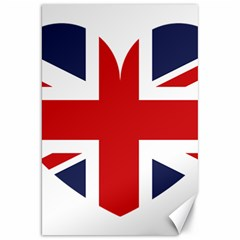 Uk Flag United Kingdom Canvas 20  X 30   by Nexatart