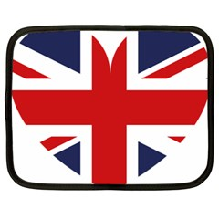 Uk Flag United Kingdom Netbook Case (xxl)