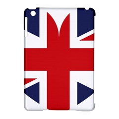 Uk Flag United Kingdom Apple Ipad Mini Hardshell Case (compatible With Smart Cover) by Nexatart