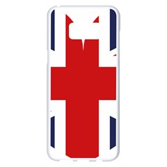 Uk Flag United Kingdom Samsung Galaxy S8 Plus White Seamless Case by Nexatart