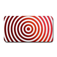 Concentric Red Rings Background Medium Bar Mats by Nexatart