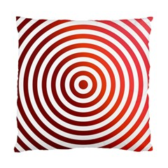 Concentric Red Rings Background Standard Cushion Case (one Side)