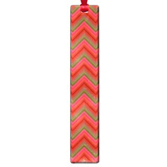 Background Retro Red Zigzag Large Book Marks by Nexatart
