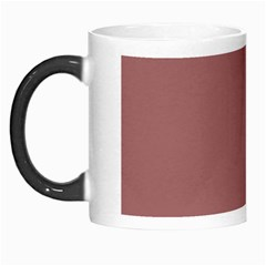 Blush Gold Coppery Pink Solid Color Morph Mugs by PodArtist