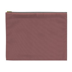 Blush Gold Coppery Pink Solid Color Cosmetic Bag (xl) by PodArtist