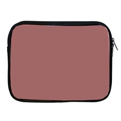 Blush Gold Coppery Pink Solid Color Apple Ipad 2/3/4 Zipper Cases by PodArtist