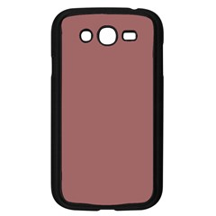Blush Gold Coppery Pink Solid Color Samsung Galaxy Grand Duos I9082 Case (black) by PodArtist