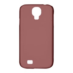 Blush Gold Coppery Pink Solid Color Samsung Galaxy S4 Classic Hardshell Case (pc+silicone) by PodArtist